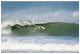 Big wave surfing - Avalanche - Jan14