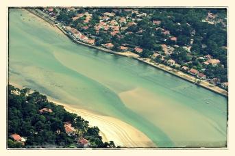 Biarritz, in the air